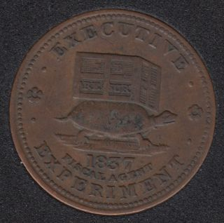 1837 - Executive Experiment - Hard Time Token L18 HT32
