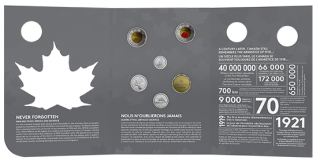 2018 - Armistice Commemorative Collector Keepsake set