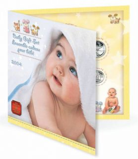 2004 baby gift set - 7 Coins Set