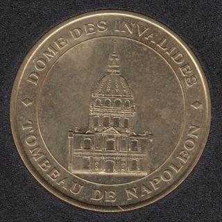 Dômes des Invalides - Tombeau de Napoleon - Monnaie de Paris