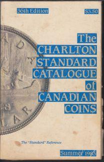 1983 - Charlton - Standard Catalogue of Canadian Coins Summer - Usagé