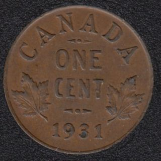 1931 - EF - Canada Cent