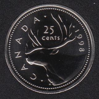 1998 - Specimen - Canada 25 Cents
