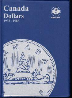 $1.00 Canada Uni-Safe Album (Dollars) 1935-1986