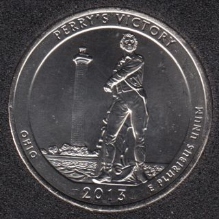 2013 P - Perry's Victory - 25 Cents