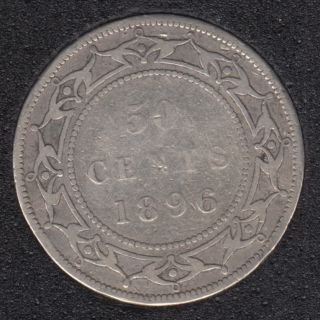 Newfoundland - 1896 - OBV 2 - 50 Cents