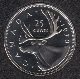 1970 - Proof Like - Canada 25 Cents