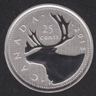 2013 - Specimen - Canada 25 Cents