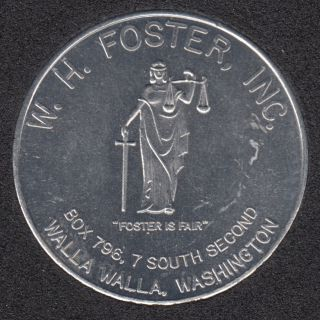 1970 - W. H. Foster - Washington - 50¢