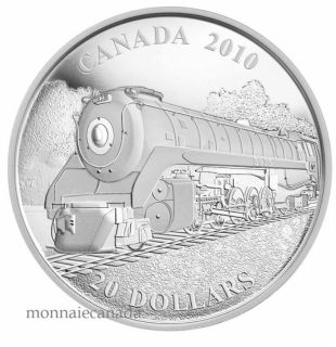 2010 - $20 - Fine Silver Coin - Great Canadian Locomotives: Selkirk