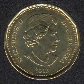 2012 - B.Unc - New Generation - Canada Loon Dollar