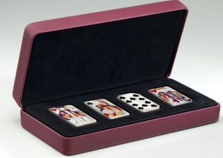 2008 2009 $15 Dollars Sterling Silver - Playing Card Money Set
