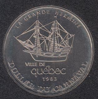 Quebec - 1983 Carnival of Quebec - Eff. 1972 / La Grande Hermine - Trade Dollar