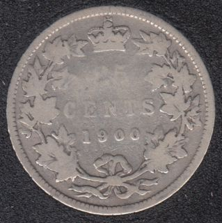 1900 - Canada 25 Cents