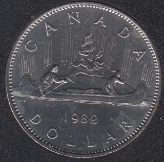 1982 - B.Unc - Nickel - Canada Dollar