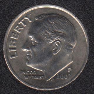 2007 P - Roosevelt - B.Unc - 10 Cents
