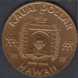 Hawaii - 1973 Kauai Dollar