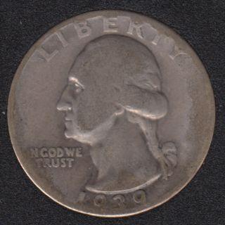 1939 - Washington - 25 Cents