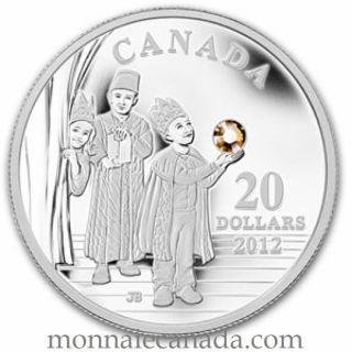 2012 - $20 - Fine Silver Coin - Three Wise Men