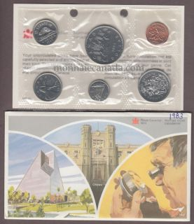 1983 BRILLIANT UNCIRCULATED SET