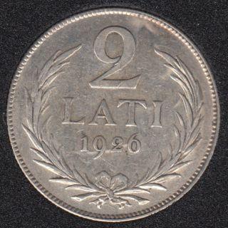 1926 - 2 Lati - Lettonie