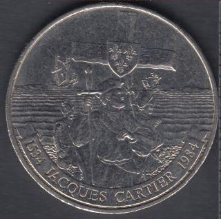 1984 - Jacques Cartier - Nickel - Canada Dollar