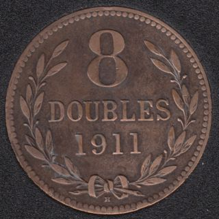 1911 - 8 Doubles - Guernsey