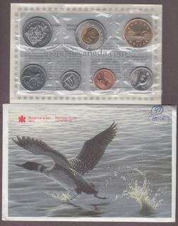 1997 - BRILLIANT UNCIRCULATED SET Ottawa