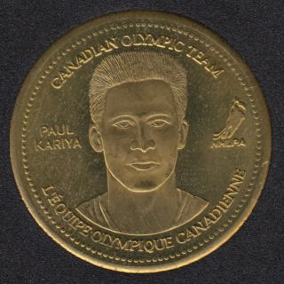 2002 - Coca Cola - Paul Kiriya - Canada Olympic Team