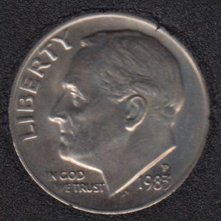 1983 P - Roosevelt - B.Unc - 10 Cents