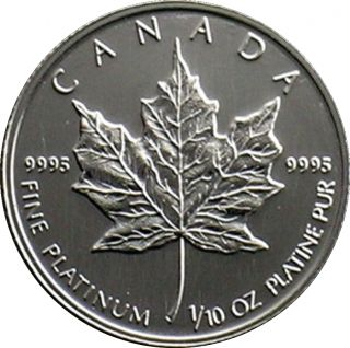1993 - $5 - B.Unc - .9995 Platine
