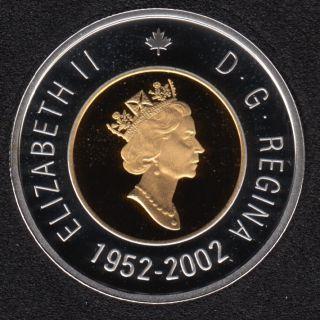 2002 - 1952 - Proof - Silver - Canada 2 Dollar