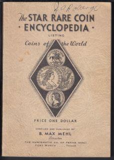 1938 - The Star Rare Coin Encyclopedia - Listing of the World - Usagé