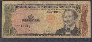 1988 - 1 Peso Oro - Republique dominicaine