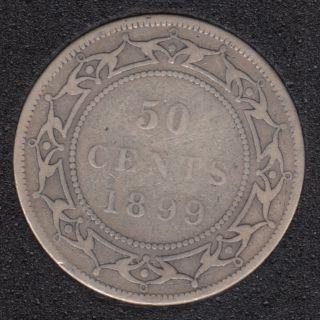 Terre Neuve - 1899 - W '9' - 50 Cents