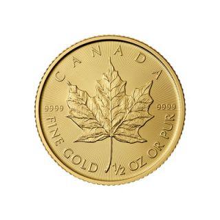 2015 - 1/2 oz Feuille d'Erable Canadienne * TÉLÉPHONE SEULEMENT *