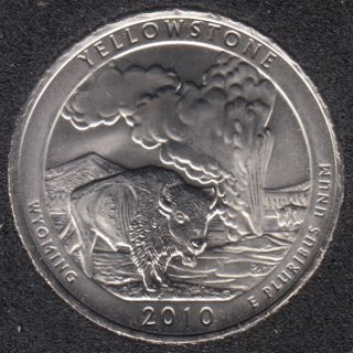 2010 D - Yellowstone - 25 Cents