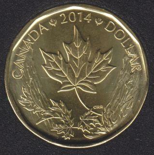 2014 - B.Unc - O Canada - Canada Dollar