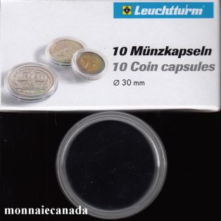 COIN CAPSULES 30 MM