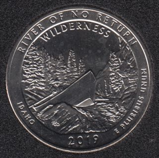 2019 S - B.Unc - River of the no Return - 25 Cents