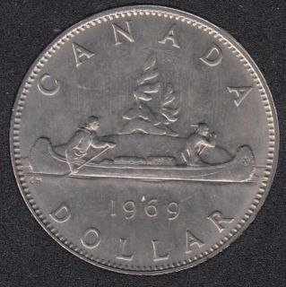 1969 - B.Unc - Nickel - Canada Dollar