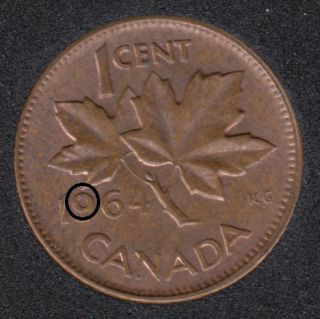 1964 - Filling 9 - Canada Cent