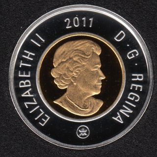 2011 - Proof - Argent - Canada 2 Dollar