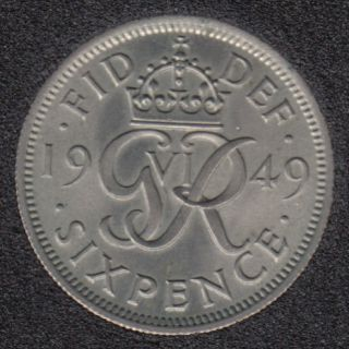 1949 - 6 Pence - B.Unc - Great Britain
