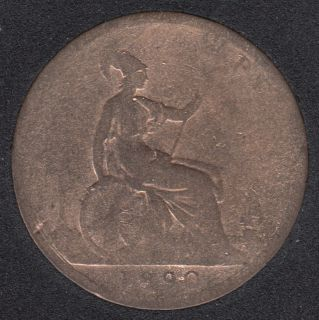 1890 - Penny - Cleaned - Great Britain