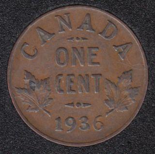 1936 - VF - Canada Cent