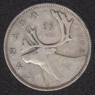 1952 - Canada 25 Cents