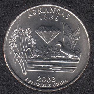 2003 P - Arkansas - 25 Cents