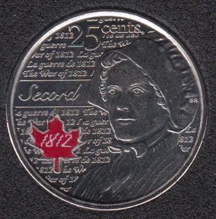 2013 - B.Unc - Laura Secord Col. - Canada 25 Cents