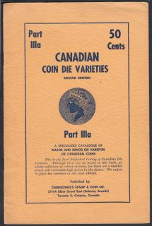1957 - Canadian Coin Die Varieties - Second Edition - Usagé
